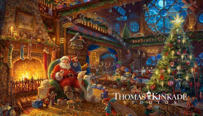 Santa's Workshop – Limited Edition Art