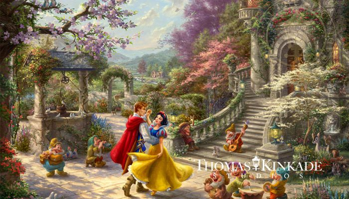 Snow White Dancing in the Sunlight – Limited Edition Art