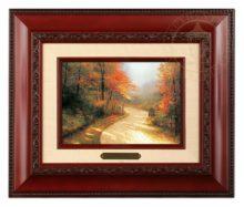 Autumn Lane - Brushwork (Brandy Frame)