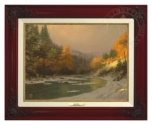 Autumn Snow - Canvas Classic (Brandy Frame)