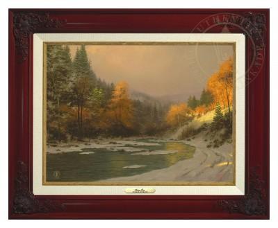 Autumn Snow - Canvas Classic (Brandy Frame)
