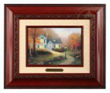Blessings of Autumn, The - Brushwork (Brandy Frame)