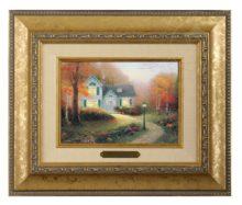 Blessings of Autumn, The - Brushwork (Gold Frame)