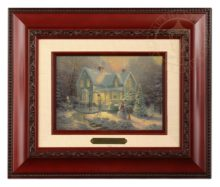Blessings of Christmas - Brushwork (Brandy Frame)