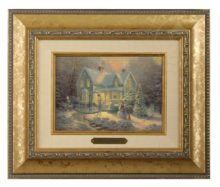 Blessings of Christmas - Brushwork (Gold Frame)