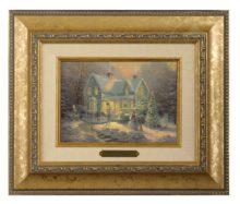 Blessings of Christmas - Brushwork (Gold Frame)