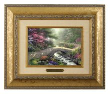 Bridge of Faith - Brushwork (Gold Frame)