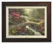 Bridge of Faith - Canvas Classic (Espresso Frame)