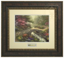 Bridge of Faith - Prestige Home Collection (Bronzed Gold Frame)