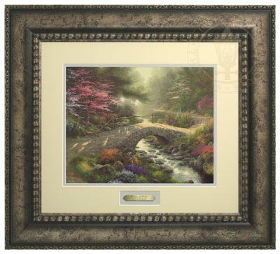 Bridge of Faith - Prestige Home Collection (Antiqed Silver Frame)