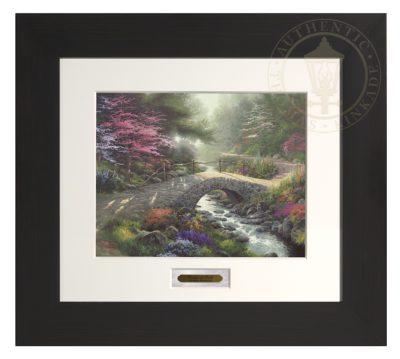Bridge of Faith - Modern Home Collection (Espresso Frame)