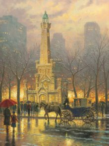 Chicago, Winter at the Water Tower