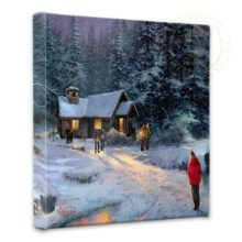 """Christmas Miracle - 14"""" x 14"""" Gallery Wrapped Canvas"""