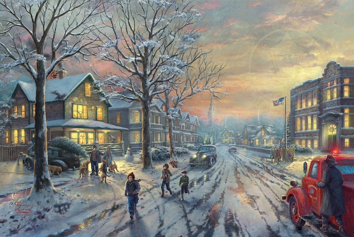 Christmas Story, A - Thomas Kinkade Galleries of New York & New Jersey