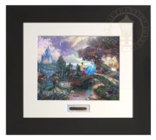 Cinderella Wishes Upon a Dream - Modern Home Collection (Espresso Frame)