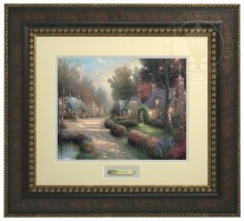 Cobblestone Lane - Prestige Home Collection (Bronzed Gold Frame)