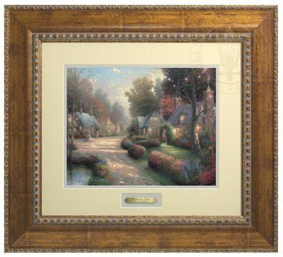Cobblestone Lane - Prestige Home Collection (Antiqued Gold Frame)