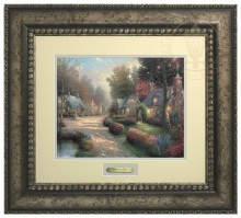 Cobblestone Lane - Prestige Home Collection (Antiqed Silver Frame)