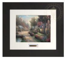 Cobblestone Lane - Modern Home Collection (Espresso Frame)