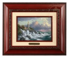 Conquering the Storms - Brushwork (Brandy Frame)