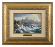 Conquering the Storms - Brushwork (Gold Frame)
