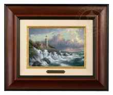 Conquering the Storms - Brushwork (Burl Frame)