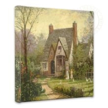"""Cottage, The - 14"""" x 14"""" Gallery Wrapped Canvas"""