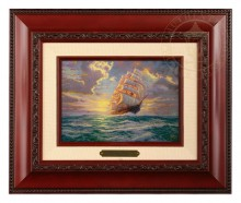 Courageous Voyage - Brushwork (Brandy Frame)