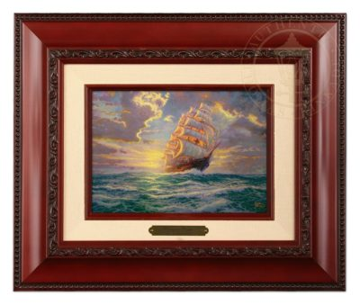 Courageous Voyage - Brushwork (Brandy Frame)