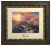 Cross, The - Prestige Home Collection (Bronzed Gold Frame)