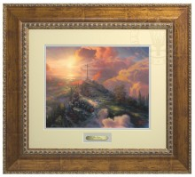 Cross, The - Prestige Home Collection (Antiqued Gold Frame)