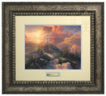 Cross, The - Prestige Home Collection (Antiqed Silver Frame)