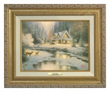 Deer Creek Cottage - Canvas Classic (Gold Frame)