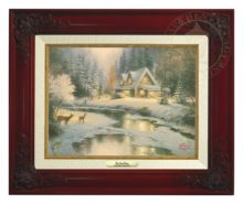 Deer Creek Cottage - Canvas Classic (Brandy Frame)