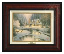 Deer Creek Cottage - Canvas Classic (Burl Frame)
