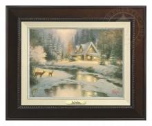 Deer Creek Cottage - Canvas Classic (Espresso Frame)
