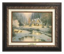 Deer Creek Cottage - Canvas Classic (Aged Bronze Frame)