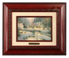 Deer Creek Cottage - Brushwork (Brandy Frame)