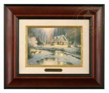 Deer Creek Cottage - Brushwork (Burl Frame)