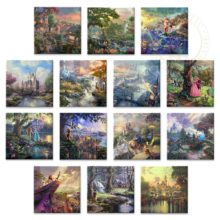 """Disney Ultimate Collection (Set of 14 Wraps) - 14"""" x 14"""" Gallery Wrapped Canvas"""