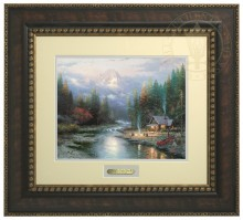 End of a Perfect Day II, The - Prestige Home Collection (Bronzed Gold Frame)