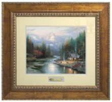 End of a Perfect Day II, The - Prestige Home Collection (Antiqued Gold Frame)