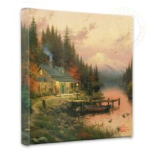 """End of a Perfect Day, The - 14"""" x 14"""" Gallery Wrapped Canvas"""
