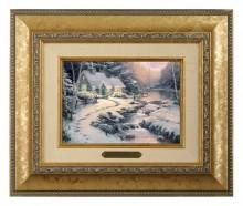 Evening Glow - Brushwork (Gold Frame)