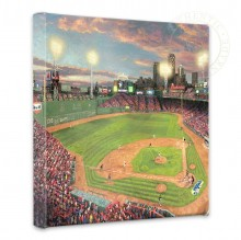 "Fenway Park - 14"" x 14"" Gallery Wrapped Canvas"