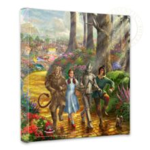 """Follow The YELLOW BRICK ROAD - 14"""" x 14"""" Gallery Wrapped Canvas"""