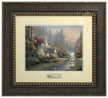 Forest Chapel, The - Prestige Home Collection (Bronzed Gold Frame)