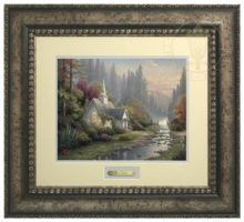 Forest Chapel, The - Prestige Home Collection (Antiqed Silver Frame)