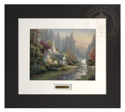 Forest Chapel, The - Modern Home Collection (Espresso Frame)