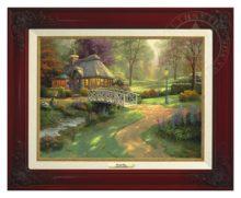 Friendship Cottage - Canvas Classic (Brandy Frame)